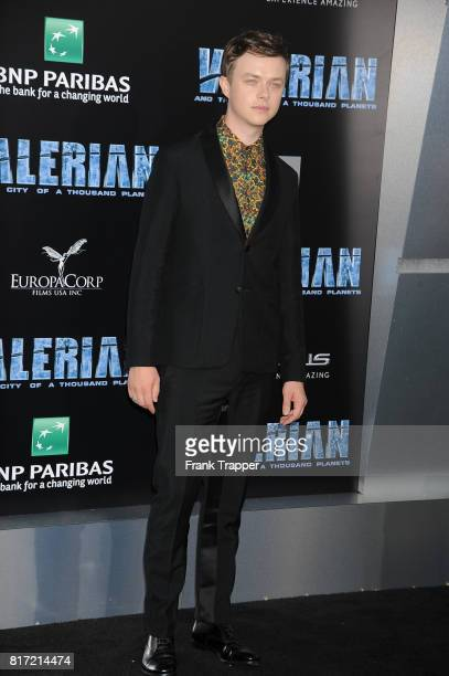 Dan DeHaan attends the premiere of EuropaCorp and STX Entertainment's 'Valerian and The City of a Thousand Planets' held at TCL Chinese Theatre on...