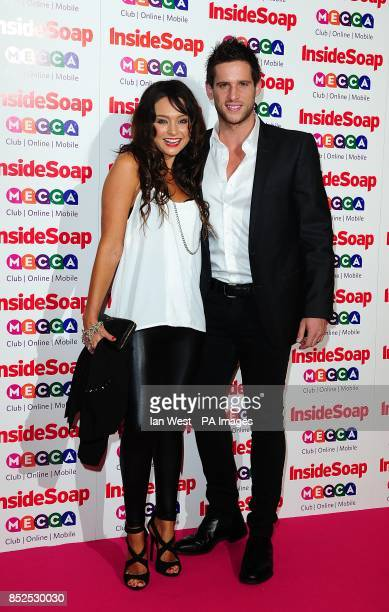 Dan Ewing and Marni Little at the 2013 Inside Soap Awards Ministry of Sound London
