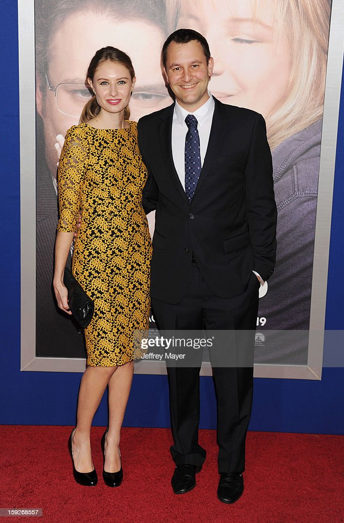 Dan Fogelman and Katelyn arrive at the 'The Guilt Trip' - Los Angeles Premiere at Regency Village Theatre on December 11, 2012 in Westwood, California.
