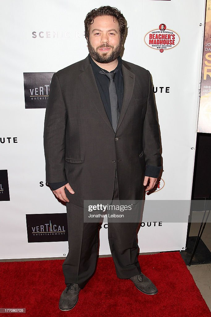 <a gi-track='captionPersonalityLinkClicked' href=/galleries/search?phrase=Dan+Fogler&family=editorial&specificpeople=2236012 ng-click='$event.stopPropagation()'>Dan Fogler</a> arrives to the 'Scenic Route' Los Angeles Premiere at Chinese 6 Theater Hollywood on August 20, 2013 in Hollywood, California.