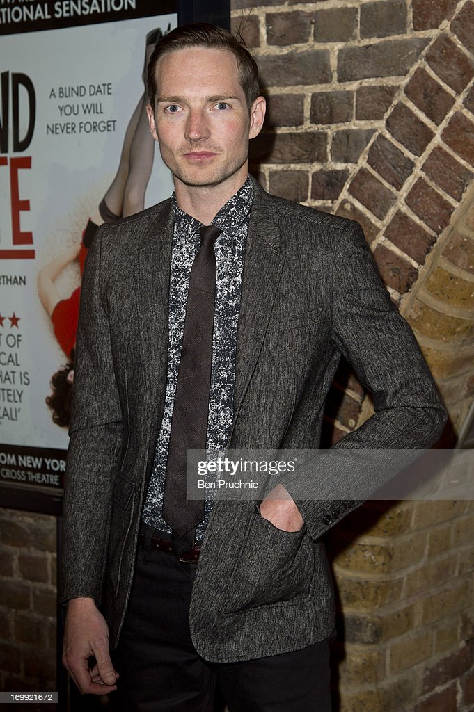 <a gi-track='captionPersonalityLinkClicked' href=/galleries/search?phrase=Dan+Gillespie+Sells&family=editorial&specificpeople=4110220 ng-click='$event.stopPropagation()'>Dan Gillespie Sells</a> attends the press night of 'Blind Date' at Charing Cross Theatre on June 4, 2013 in London, England.