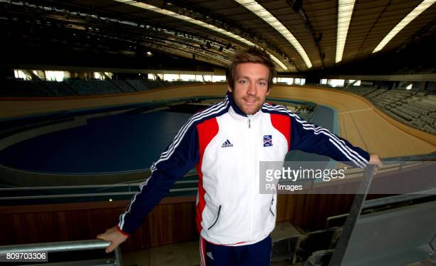 Dan Greaves during the photocall at the Velodrome in the Olympic Park LondonPicture date Tuesday December 13 2011 Over 30 London 2012 hopefuls came...