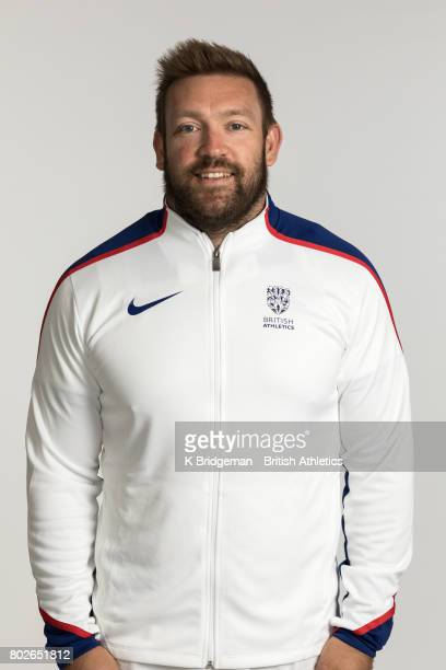 Dan Greaves of Great Britain poses for a portrait during the British Athletics World Para Athletics Championships Squad Photo call on June 25 2017 in...