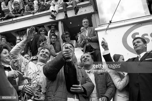 Dan Gurney A J Foyt Mike Parkes 24 Hours of Le Mans Le Mans 11 June 1967