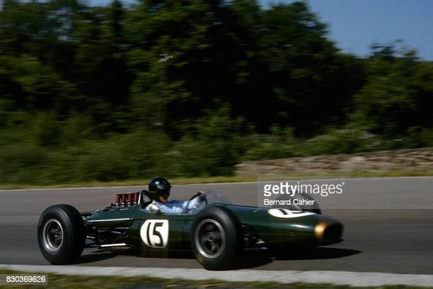 Dan Gurney Brabham BT7 Grand Prix of Belgium Spa Francorchamps 14 June 1964