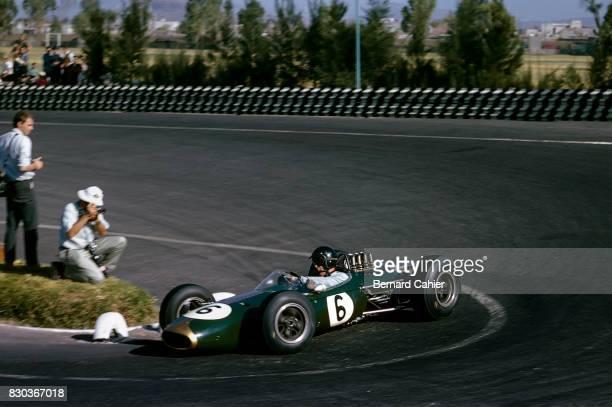 Dan Gurney Brabham BT7 Grand Prix of Mexico Autodromo Hermanos Rodriguez 25 October 1964