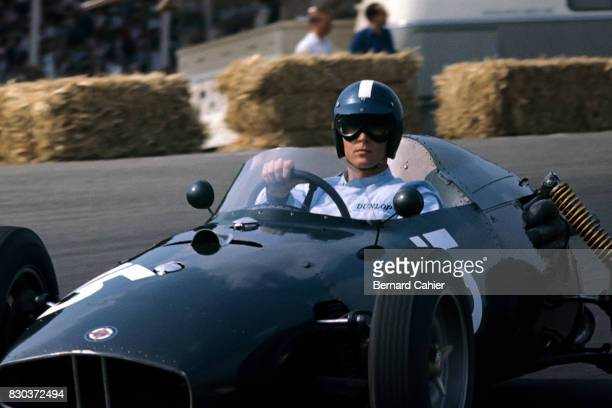 Dan Gurney BRM P48 Grand Prix of Netherlands Zandvoort 06 June 1960