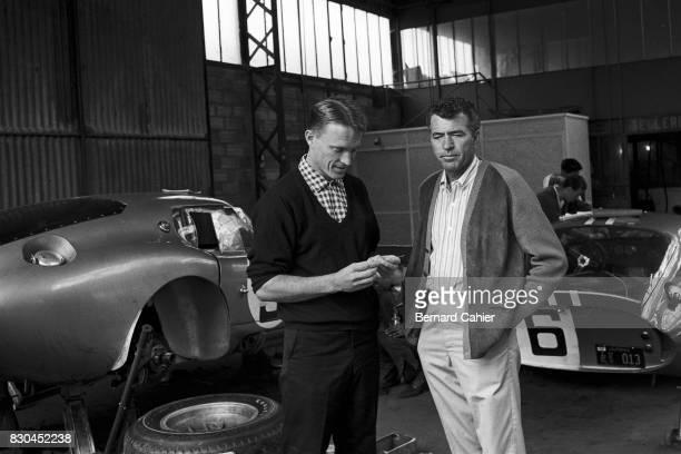 Dan Gurney Carol Shelby Shelby Cobra Daytona Coupe 24 Hours of Le Mans Le Mans 22 June 1964