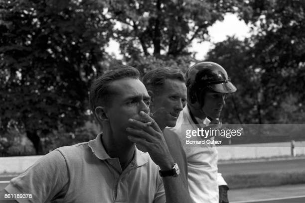 Dan Gurney Cliff Allison Phil Hill Grand Prix of Germany AVUS 02 August 1959