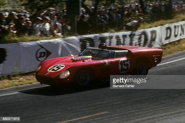 Dan Gurney Ferrari 250 Testa Rossa 61 24 Hours of Le Mans Le Mans 24 June 1962