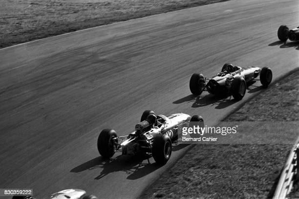 Dan Gurney Graham Hill Brabham BT11 BRM P261 Grand Prix of Italy Monza 12 September 1965