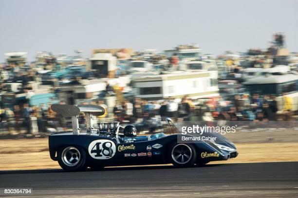 Dan Gurney McLaren M6B Chevrolet CanAm Los Angeles Times Grand Prix Riverside 26 October 1969