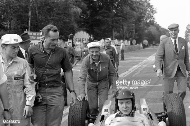 Dan Gurney Phil Hill Porsche 804 Grand Prix of France RouenLesEssarts 08 July 1962