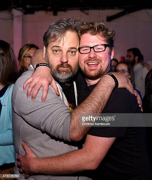 Dan Harmon and Justin Roiland attends the 2015 Adult Swim Upfront Party at Terminal 5 on May 13 2015 in New York City 25515_002_0244JPG