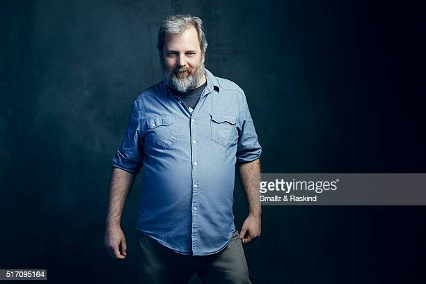 Dan Harmon pose for a portrait in the Getty Images SXSW Portrait Studio Powered By Samsung March 2016 f on March 13 2016in Austin Texas