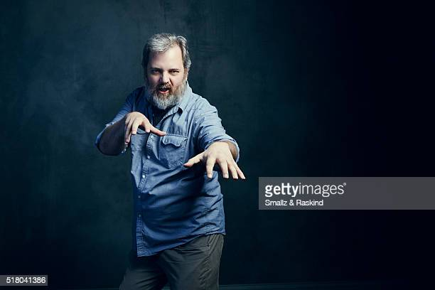 Dan Harmon poses for a portrait in the Getty Images SXSW Portrait Studio Powered By Samsung on March 13 2016 in Austin Texas