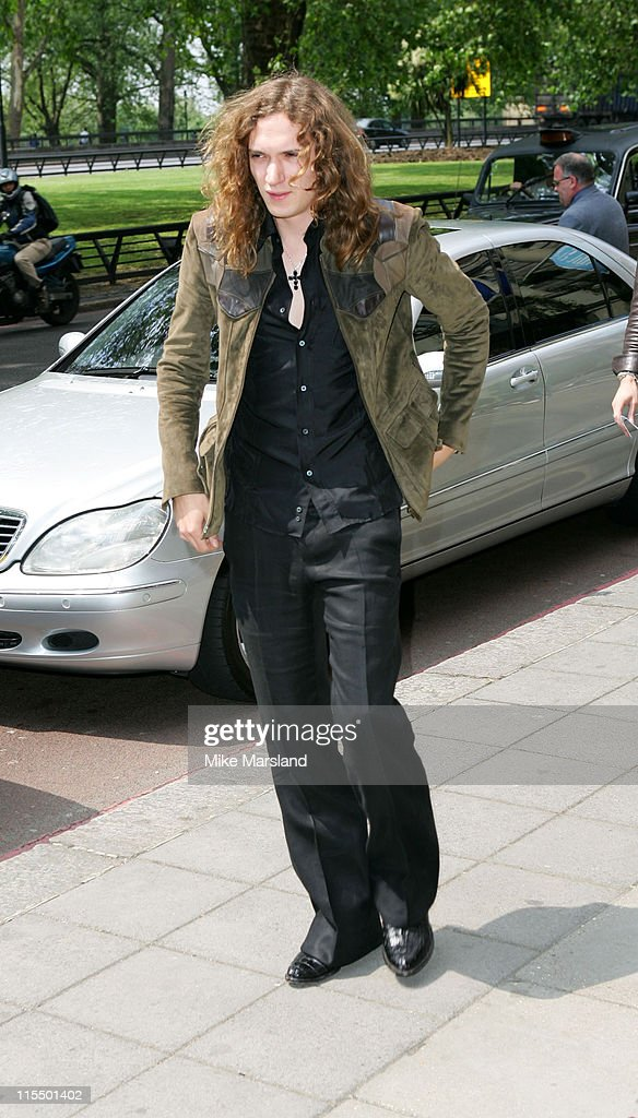 Dan Hawkins of The Darkness during 49th Ivor Novello Awards - Arrivals at Grosvenor House in London, Great Britain.
