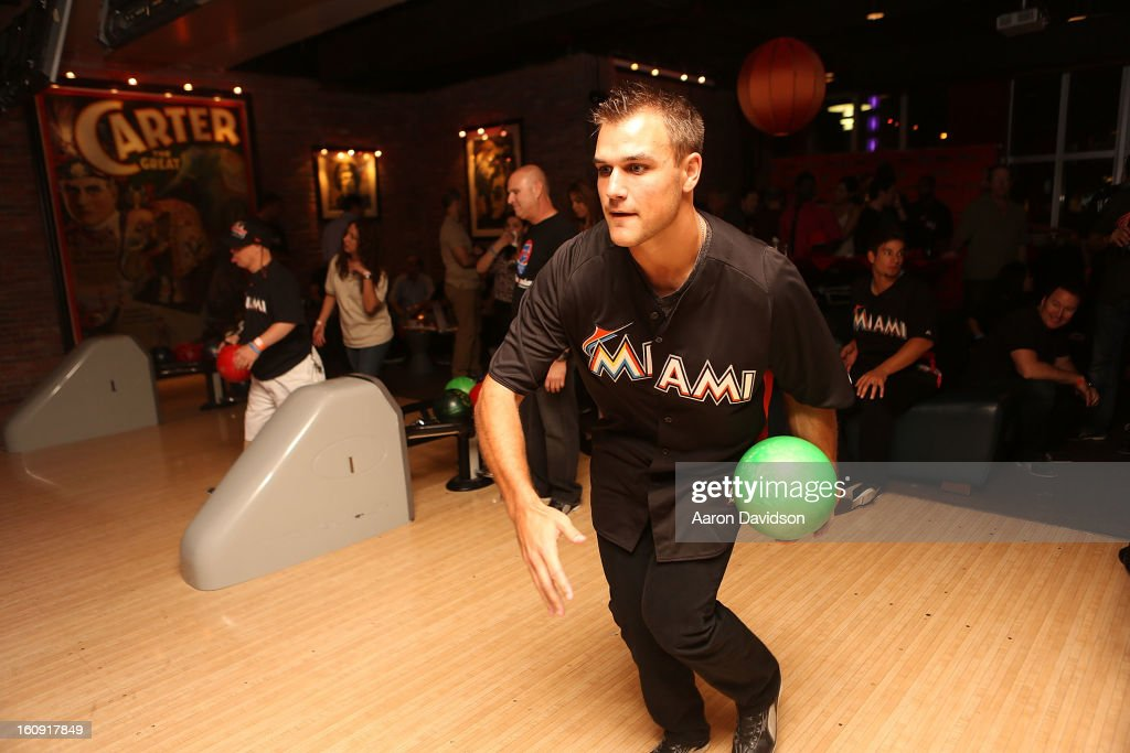 Dan Jennings attends The Miami Marlins Host 7th Annual BaseBowl at Lucky Strike Lanes on February 7, 2013 in Miami Beach, Florida.