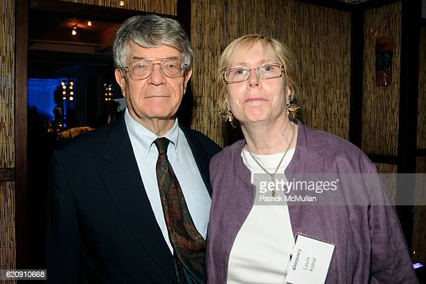 Dan Kobal and Lois Kobal attend INTO THE UNKNOWN with JOSH BERNSTEIN Party hosted by DISCOVERY CHANNEL at Westside Loft on August 13 2008 in New York...