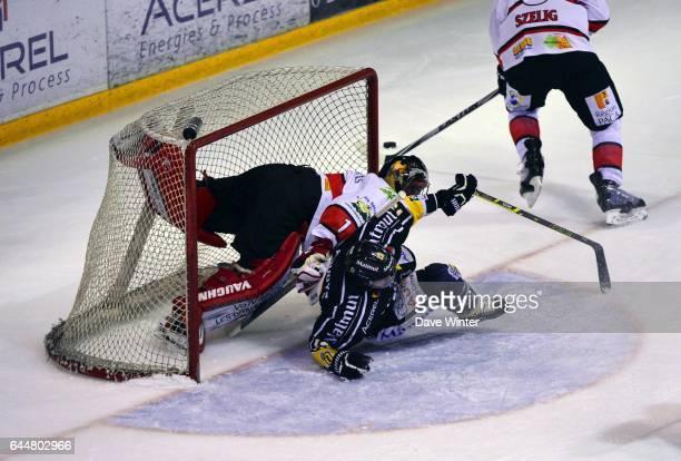 Dan KOUDYS / Shane MADOLORA Hockey sur glace Rouen / Briancon 1/2Finale Coupe de France Photo Dave Winter / Icon Sport