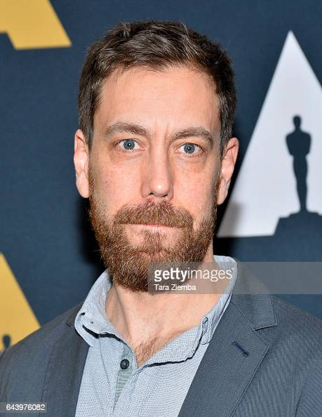 Dan Krauss attends the 89th Annual Academy Awards Oscar week reception for nominated films in the Documentary category at Samuel Goldwyn Theater on...