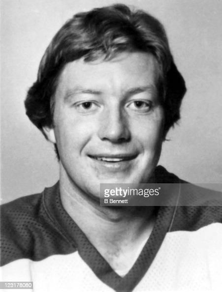 Dan Labraaten of the Winnipeg Jets poses for a portrait in September 1976 in Winnipeg Manitoba Canada