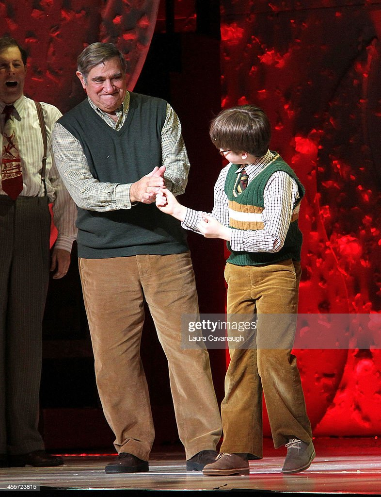 dan lauria and jake lucas attend opening night of a christmas story picture id455723815