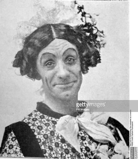 Dan Leno in Pantomime Humpty Dumpty in 1903 at Drury Lane