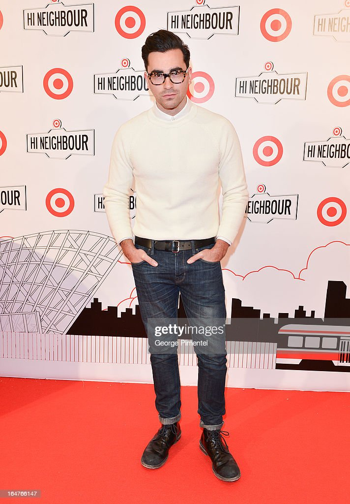 Dan Levy attends the opening of Target At Shoppers World Danforth on March 27, 2013 in Toronto, Canada.