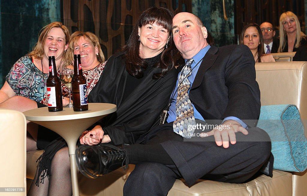 Dan Linskey attends TNT's 'Boston's Finest' premiere screening at The Revere Hotel on February 20, 2013 in Boston, Massachusetts.