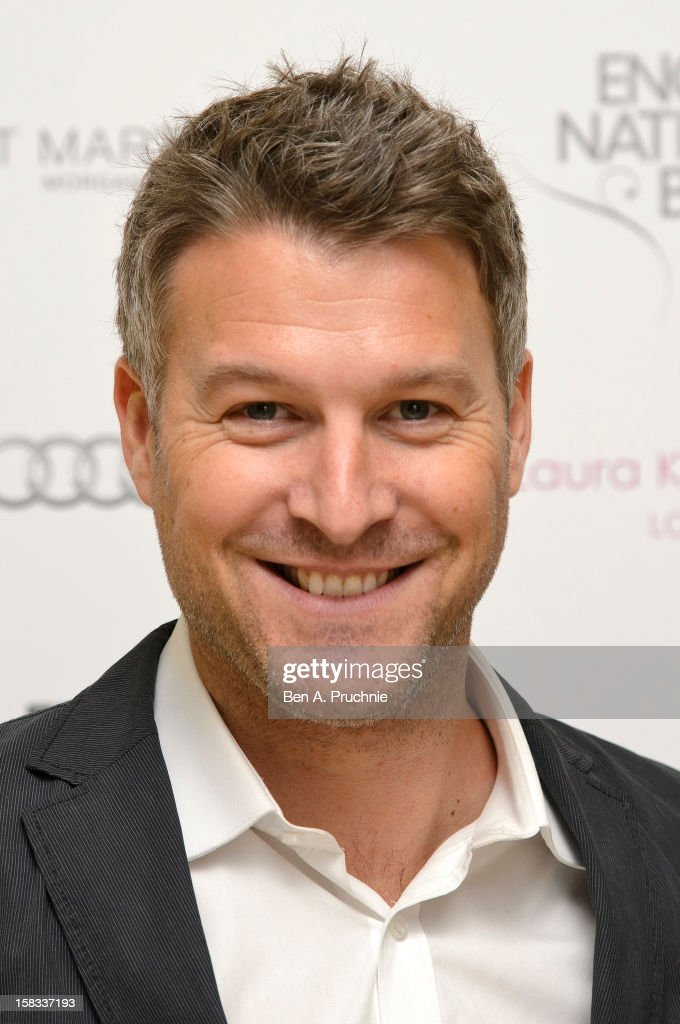 Dan Lobb attends the English National Ballets Christmas Party at St Martins Lane Hotel on December 13, 2012 in London, England.
