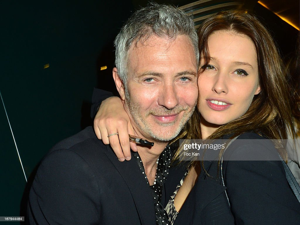 Dan Marie Rouyer and Lila Salet attend the Sam Bobino DJ Set Party At The Hotel O on April 25, 2013 in Paris, France.