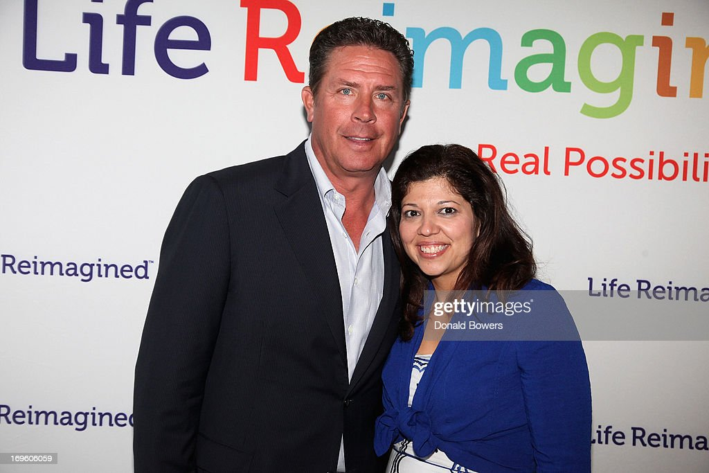 <a gi-track='captionPersonalityLinkClicked' href=/galleries/search?phrase=Dan+Marino&family=editorial&specificpeople=203298 ng-click='$event.stopPropagation()'>Dan Marino</a> and Rocky Egusquiza attend The Launch of AARP's 'Life Reimagined' hosted by Emilio Estefan and <a gi-track='captionPersonalityLinkClicked' href=/galleries/search?phrase=Dan+Marino&family=editorial&specificpeople=203298 ng-click='$event.stopPropagation()'>Dan Marino</a> at La Bottega Trattoria at The Maritime Hotel on May 28, 2013 in New York City.