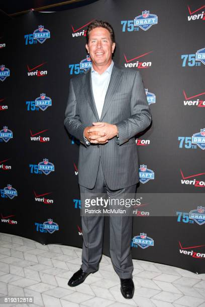 Dan Marino attends NFL and VERIZON Celebrate Draft Eve at Abe and Arthur's on April 21 2010 in New York City