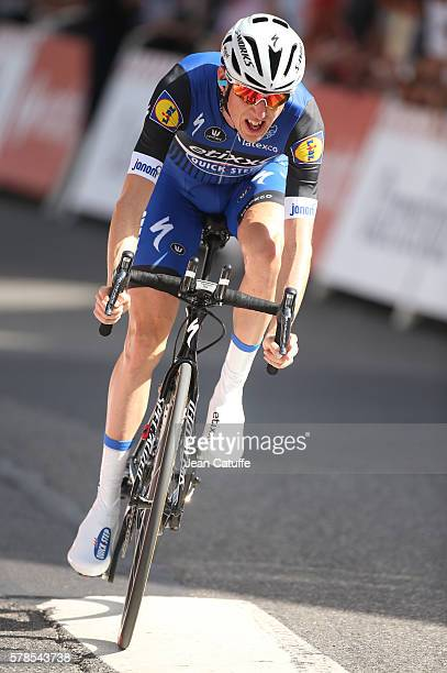 Dan Martin of Ireland and EtixxQuick Step in action during stage 18 of the Tour de France 2016 a time trial of 17km between Sallanches and Megeve on...