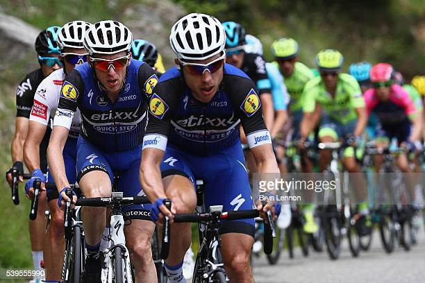 Dan Martin of Ireland and EtixxQuick Step in action during stage seven of the 2016 Criterium du Dauphine a 151km stage from Le PontdeClaix to...