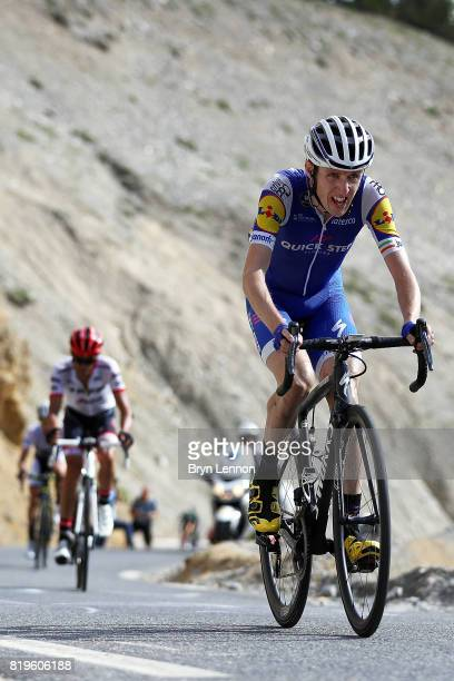 20 20 Dan Martin of Ireland and QuickStep Floors climbs the Col d'Izoard on stage eighteen of the 2017 Tour de France a 1795km stage from Briancon to...