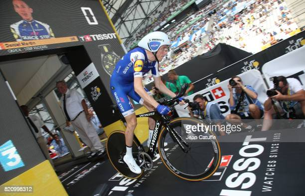 Dan Martin of Ireland and QuickStep Floors during stage 20 of the Tour de France 2017 an individual time trial of 225km on July 22 2017 in Marseille...