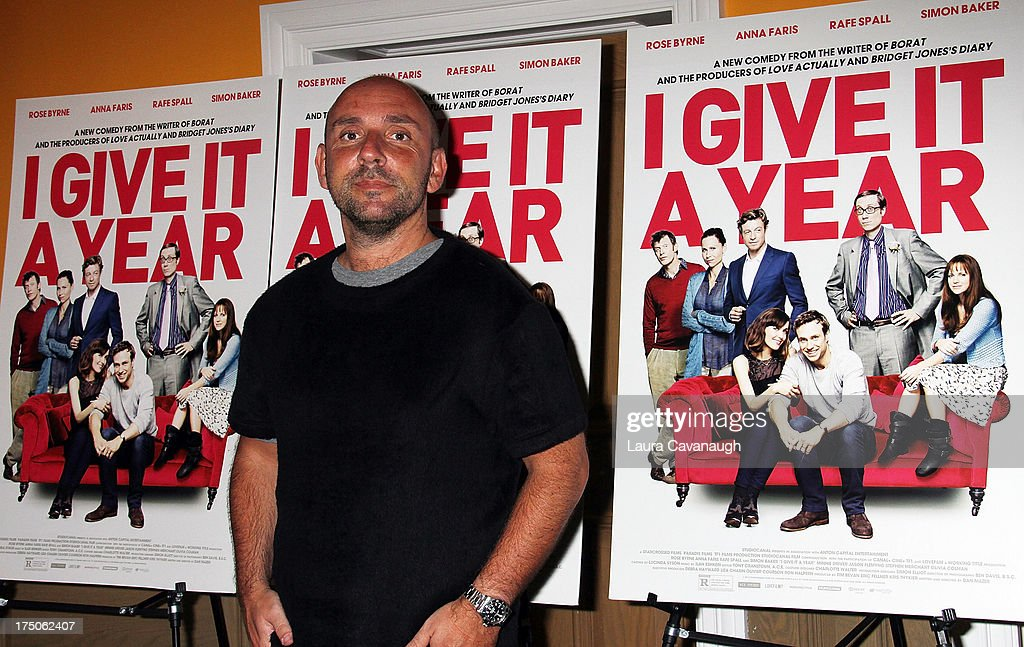Dan Mazer attends the 'I Give It A Year' screening at the Crosby Street Theater on July 30, 2013 in New York City.