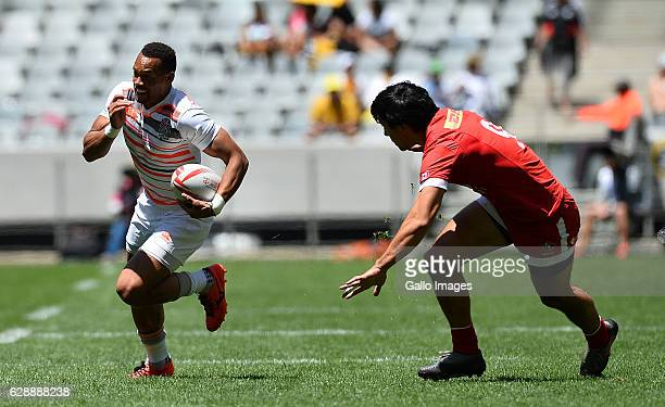 Dan Norton of England during day 1 of the HSBC Cape Town Sevens Pool C England and Canada match at Cape Town Stadium on December 10 2016 in Cape Town...