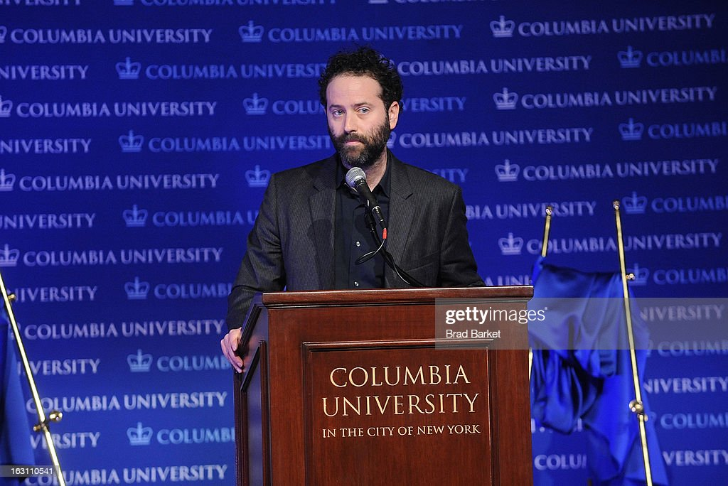 Dan O'Brien attends the 2013 Edward M. Kennedy Prize For Drama Award Reception at Columbia University on March 4, 2013 in New York City.