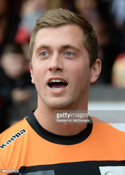 Dan Osborne takes part in Sellebrity Soccer Match in aid of Smile For Joel and Compton Hospice at Banks' Stadium on May 13 2017 in Walsall England
