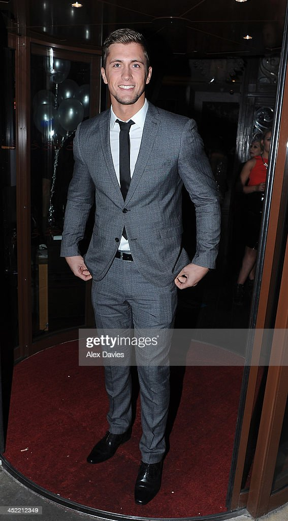 Dan Osbourne attend the Now magazine Christmas party on November 26, 2013 in London, England.