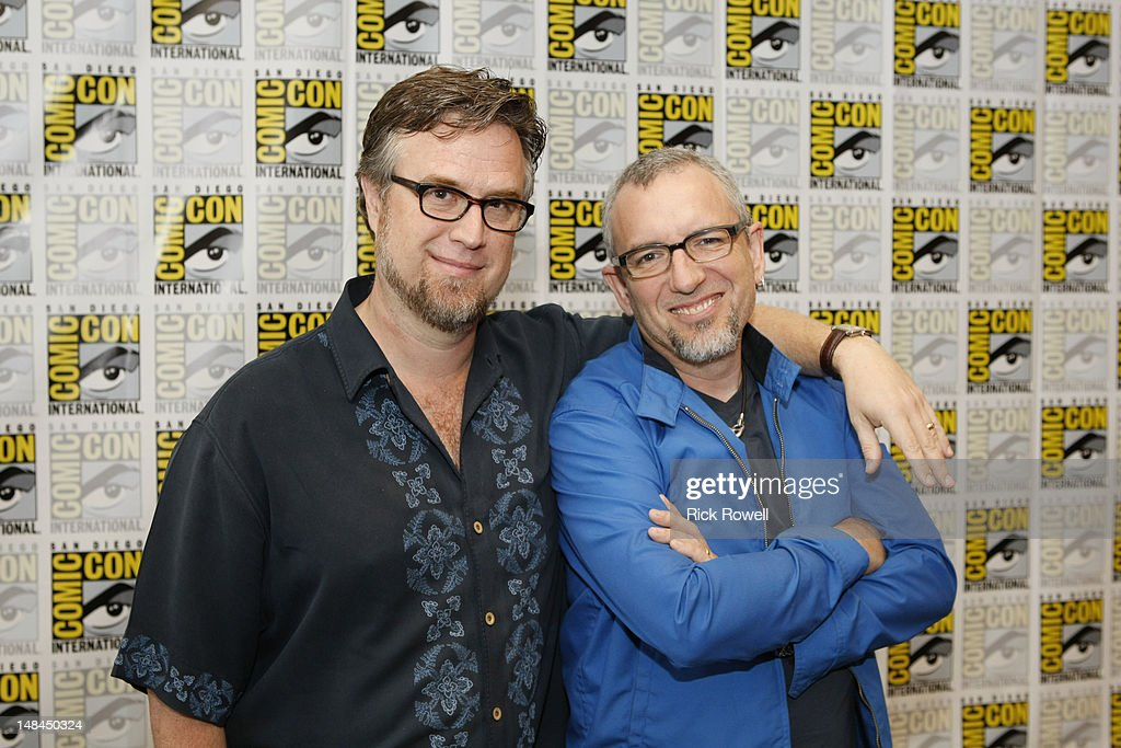 ANIMATION - Dan Povenmire and Jeff 'Swampy' Marsh from Disney Channel's 'Phineas and Ferb' participate in media interviews at Comic-Con International in San Diego, Calif. (July 14). DAN POVENMIRE (CREATOR/EXECUTIVE PRODUCER, 'PHINEAS AND FERB'), JEFF 'SWAMPY' MARSH