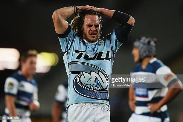 Dan Pryor of Northland looks on after losing the round eight ITM Cup match between Auckland and Northland at Eden Park on October 3 2015 in Auckland...