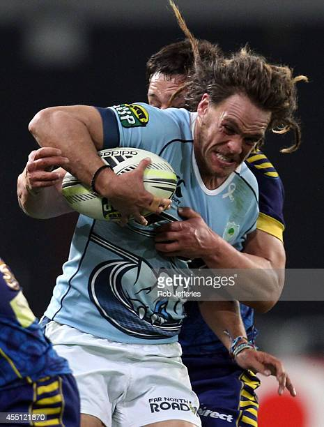 Dan Pryor of Northland on the charge during the round five ITM Cup match between Otago and Northland at Forsyth Barr Stadium on September 10 2014 in...
