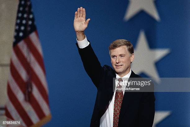 Dan Quayle Waving at the Republican National Convention