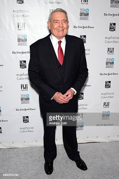 Dan Rather attends the 25th annual Gotham Independent Film Awards at Cipriani Wall Street on November 30 2015 in New York City