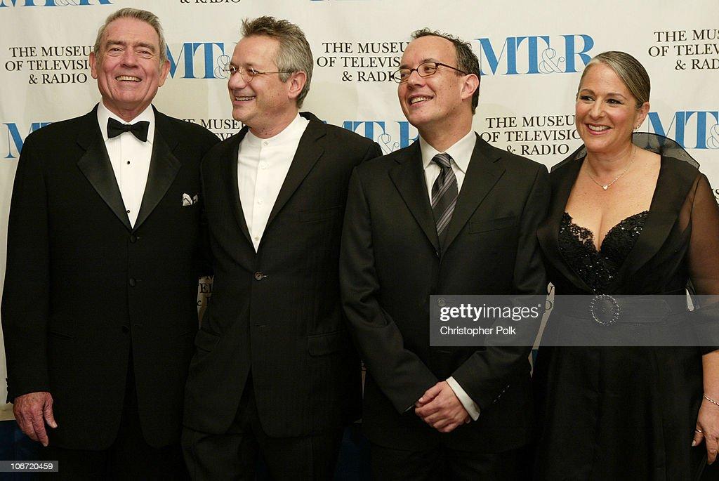 Dan Rather, Kevin Bright, David Crane and Marta Kauffman