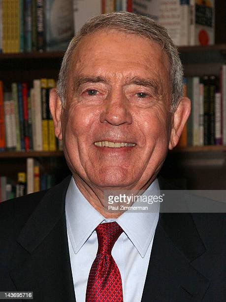 Dan Rather promotes 'Rather Outspoken My Life In The News' at Barnes Noble 82nd Street on May 2 2012 in New York City